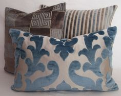 Osborne and Little Concetti Velvet  CONTEMPORARY by MoGirlDESIGNS, £29.00