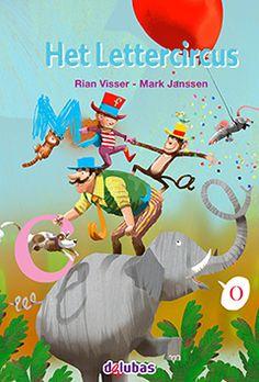 Leuk boek:Het Lettercricus van Rian visser met bijpassende app
