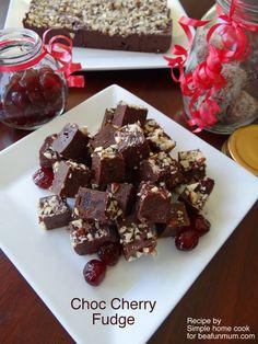 Chocolate Cherry Fudge Recipe