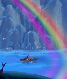 The base of the rainbow - Pocahontas