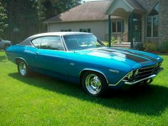 1969 Chevelle like the one KW had when we met Chevy Muscle Cars, Best Muscle Cars, American Muscle Cars, 1969 Chevelle, Chevrolet Chevelle, General Motors Cars, Chevy Girl, Chevrolet Malibu, Hot Rides