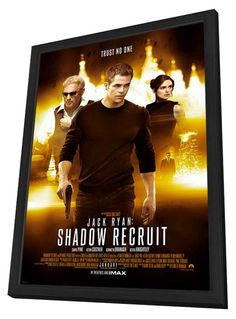 Jack Ryan: Shadow Recruit 11x17 Framed Movie Poster (2014)