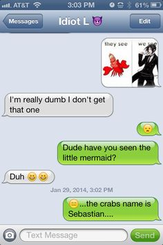 Black butler funny text