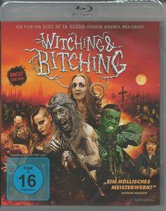 Witching & Bitching BLU-RAY DISC-FILM / MOVIE KOMÖDIE COMEDY DRAMA HORROR FSK 16sparen25.com , sparen25.de , sparen25.info