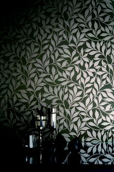 The Charlie Wilson collection by Cole and Son, is a tribute to Charile Wilson who joined Coles in 1951 as an apprentice block printer. For 57 years Charlie's artistic sensibilities and #craftsmanship have been applied to the printing of thousands of rolls of #wallpaper in countless #designs. #Wallcovering from Charlie Wilson, Cole & Son, #Goodrich
