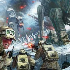 Battle of Echo Base, Hoth.