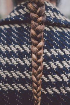Plain braid