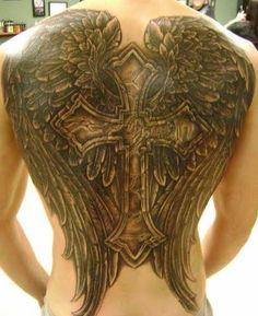 Full back tattoo I Tattoo, Cool Tattoos, Tattoo Wings, Tattoo Quotes, Back Piece Tattoo, Full Back Tattoos, Tatting, Body Art, Piercings