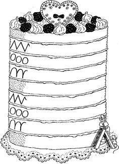 voorbereidend schrijven taart. grafisme. pre-escritura, tarta