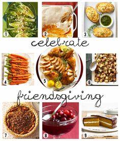 Celebrate Friendsgiving -- No fuss, no muss menu so you can enjoy your friends and family! | BHG Delish Dish | @Michael Dussert Wurm, Jr. {inspiredbycharm.com} #Thanksgiving #Turkey #Stuffing #Friendsgiving #BHG
