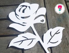 Rose Papercut SVG / DXF Cutting Files For Cricut / Silhouette