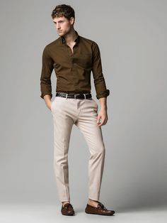 Massimo Dutti United Kingdom Spring Summer Collection 2019 is part of Mens fashion - Summer 2019 collection The most elegant styles Formal Men Outfit, Smart Casual Outfit, Stylish Mens Outfits, Men Casual, Indian Men Fashion, Mens Fashion Wear, Fashion Sale, Costume Sexy, Mode Man