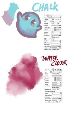 Digital Painting Tutorials, Digital Art Tutorial, Painting Tools, Art Tutorials, Drawing Techniques, Drawing Tips, Drawing Reference, Paint Tool Sai Tutorial, Sai Brushes