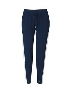 Petra Pants - Navy with Stripe