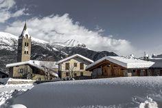 Chateau Beaulard (Oulx) - #myValsusa 15.12.17 #fotodelgiorno di Andrea Zanca Burian
