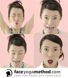 Face Yoga works every muscle in your face. This helps slim the face, neck and jawline.Works so well for aged skin and extra skin from weight loss. Get fuller lips, tighter eyelids and a beautiful, revitalized look.