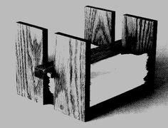 diy wooden napkin holder