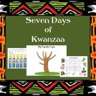 Enjoy a new experience with your students! Celebrate the seven days of Kwanzaa with these activities geared for each of the Kwanzaa symbols. Your s...