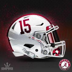 Football Helmet Design, Football Helmets, Houndstooth, Alabama, Empire, Decals, Swag, Metallic, Stripes
