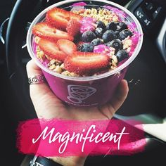 Make it a Magnificent Day with a Pitaya Bowl from Juice It Up!