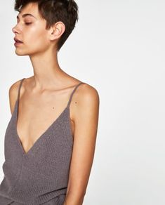KNIT TANK TOP-NEW IN-WOMAN | ZARA Canada