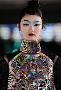 holy holographic! Manish Arora