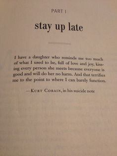 kurt cobain, sad, and words image - Trend Sister Quotes 2019 Poem Quotes, Lyric Quotes, Words Quotes, Wise Words, Life Quotes, Sayings, Nirvana Frases, Nirvana Lyrics, Nirvana Quotes