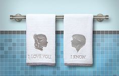 "A very ""Star Wars"" way to say ""I love you"""