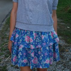 <3 the Vintage Laura Ashley Skirt. With a striped shirt would be too cute!