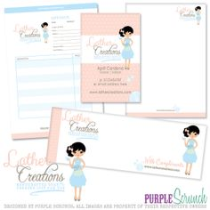 £50 Stationery Pack... Bespoke Logo, Business Card, Letterhead, Compliment Slip and Invoice Design #beautifulbranding