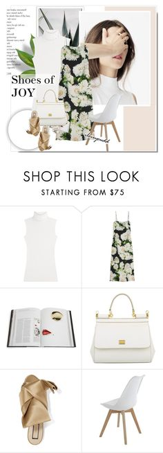 """""""Shoes of JOY"""" by iloveyoudd ❤ liked on Polyvore featuring Diane Von Furstenberg, ADAM, Rizzoli Publishing, Dolce&Gabbana and N°21"""