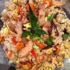 Chicken basil fried rice! #imadeit