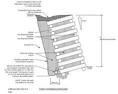 04_007-1-Timber-crib-wall Crib Wall, Precast Concrete, Retaining Walls, Wood Wall, Landscaping, Wordpress, Gardens, Construction, Google Search