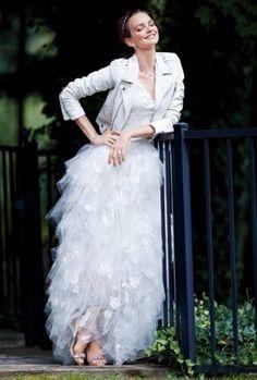 One of a Kind custom white leather wedding jacket   #LUVLIFESTYLE ...