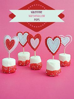 Valentine Marshmallow Pops - Moments With Mandi