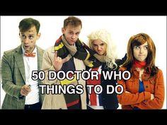 ▶ 50 Doctor Who Things To Do | tessaROXX - YouTube