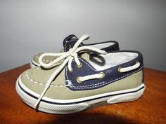 Sperry Top-Sider toddler boys shoes size 7 worn twice EUC, Boating, sailing #Sperry #Loafers