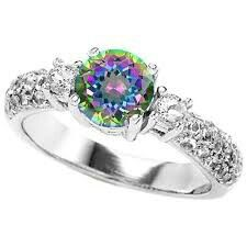 heart ring rainbow wedding rings jewelry rings pinterest heart rings wedding ring and rainbow heart - Rainbow Wedding Rings