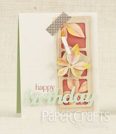 Card sketches make card design easier so you can focus on the details; Betsy Veldman - Paper Crafts & Scrapbooking September 2014: make cards, birthday