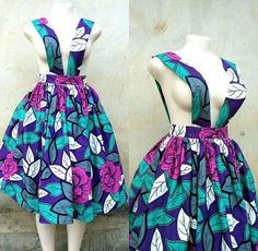 Ankara Pinafore Styles Collection For Fashion Lovers 2018 African Inspired Fashion, Latest African Fashion Dresses, African Print Fashion, Dress Fashion, African Attire, African Wear, African Women, African Dresses For Kids, African Print Dresses