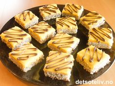 Suksess i langpanne Norwegian Food, Norwegian Recipes, Let Them Eat Cake, Sheet Pan, Cake Recipes, Cheesecake, Muffin, Food And Drink, Sweets