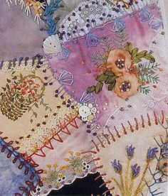 Embellished Art Quilts | The Magic of Crazy Quilting & Motifs for Crazy Quilting by J Marsha ...