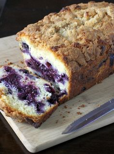 Blueberry Streusel Bread - same as CI's Best Blueberry Muffins