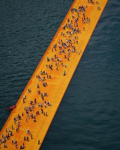 Were you at #FloatingPiers last year? Share your #TASCHENxChristoMemories for your chance to win a signed copy of Christos project book and a piece of the artwork cloth! Follow link to explore tsc.hn/04653in. #FloatingPiers #Christo #LagodIseo #ChristoandJeanneClaude #EnvironmentalArt #lakeiseo #walkingonwater #iseo #lagodiseo #Sulzano #Italy #TheFloatingPiers #JeanneClaude