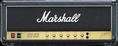 Marshall JCM800 2203 Reissue Guitar Amplifier Head: Get pure, face-melting Marshall tone from this JCM800 reissue. Its four EL34 tubes bring plenty of power and that signature Marshall crunch.