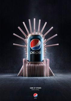 Pepsi , Game Of Straws