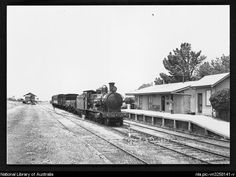 Buckland, John L 1915-1989.  [Mixed train hauled by locomotive 3361, Roslyn Railway Station, New South Wales, 13 November 1946, 1] [picture]  1946. 1 photograph : b ; 12.7 x 17.8 cm.  Part of Buckland collection of railway transport photographs [picture]. [ca. 1930-1988]  From National Library of Australia collection  http://www.nla.gov.au/apps/cdview/?pi=nla.pic-vn3258141  AboutCopyrightContact usHelp    Search   nla.pic-vn3258141