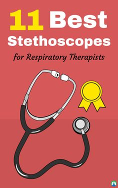 These are the absolute Best Stethoscopes for Respiratory Therapists, Nurses, Doctors, EMTs, and all other medical professionals. Best Stethoscope, Rn School, Respiratory Therapy, Nursing Notes, Pharmacology, Student Gifts, Nurse Gifts, Doctors, Nurses