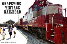 Grapevine Vintage Train ~ Grapevine, Texas - R We There Yet Mom?