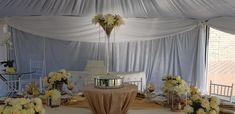 Cream and gold decor!